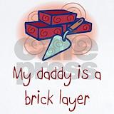 Brick mason Baby Bodysuits