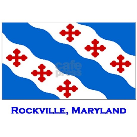 Rockville md flag rectangle decal by janetsgirl for Jewelry by design rockville md