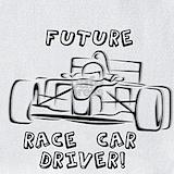 Car driver baby clothes Bib