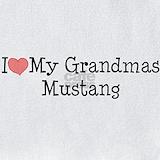 I love my grandmas mustang Bib