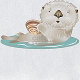 Otter baby Bib