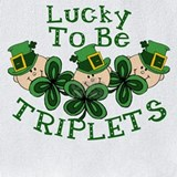 Irish triplets Bib