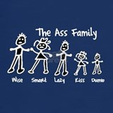 Ass family shirt T-shirts