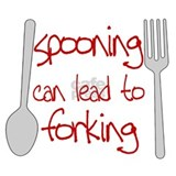 Spooning leads to forking apron Aprons