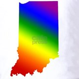 Indiana gay pride rainbow Polos