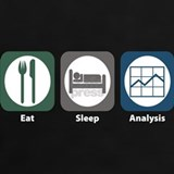 Eat sleep analysis T-shirts