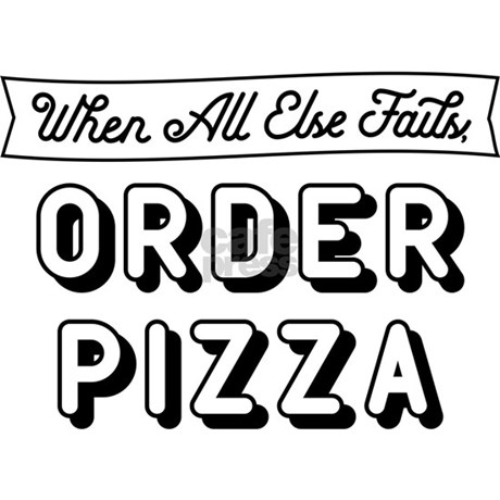 Order Pizza Products