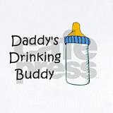 Daddy\'s drink buddy Baby Bodysuits
