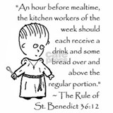 St benedict Aprons