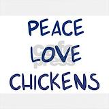 Peace love chickens Sweatshirts & Hoodies