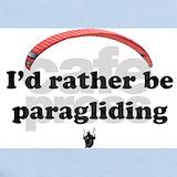 Paragliding Baby Bodysuits