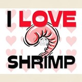 Shrimp T-shirts