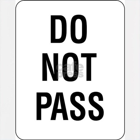 do not pass sign hoodie by simplesignshop