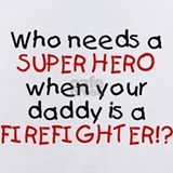 Firefighter Baby Bodysuits