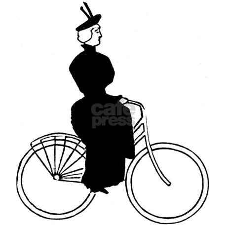 Cyclist (F) Postcards (Package of 8) by sicpress