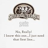 Bluegrass lyrics Sweatshirts & Hoodies