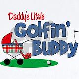 Daddy golf buddy Baby Bodysuits