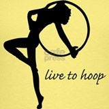 Hula hooping Tank Tops