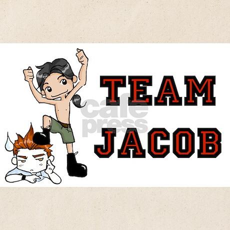 Team Jacob Tote Bag 101