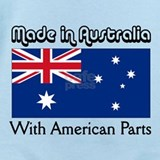 Australian american Baby Bodysuits