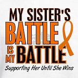 Leukemia sister Sweatshirts & Hoodies