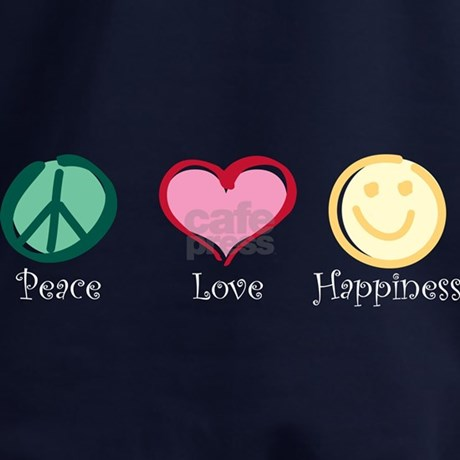 Peace love happiness hoodie by davetdesigns for Peace love happiness coloring pages