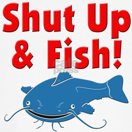 Shut up fish throw pillow by olevetposse for Shut up and fish