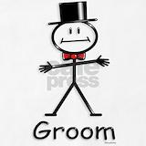 Bride groom Aprons