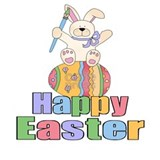 Happy easter T-shirts