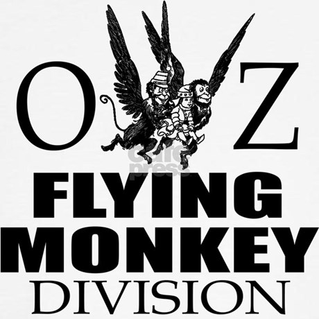 flying monkey coloring page - oz flying monkey division ringer