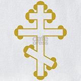 Russian orthodox cross Bib