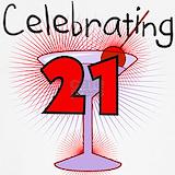 Celebrating 21 birthday spaghetti tanks Tank Tops