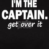 Captain sail boat T-shirts