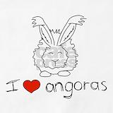 Angora rabbit Aprons
