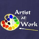 Artist palette Aprons