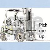 Forklift Baby Bodysuits