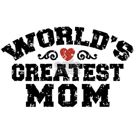 Worlds Greatest Mom Mug By Dweedletees