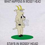 Goat mossy head T-shirts