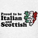 Scottish italian T-shirts