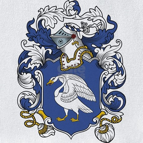 Swan Coat of Arms Bib by familycoats Swan Arms