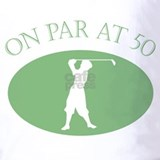 50th birthday golf shirt Polos