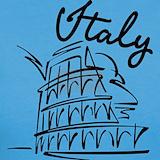 Rome italy T-shirts