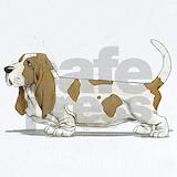 Basset hound Baby Bodysuits