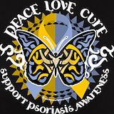 Psoriasis awareness T-shirts