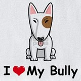 English bull terrier Bib