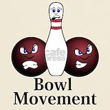 Bowl movement T-shirts