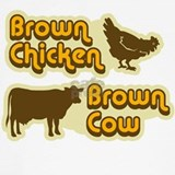 Brown chicken brown cow Tank Tops