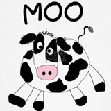 Toddler cow T-shirts