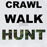 Baby hunting crawl walk hunt Bib