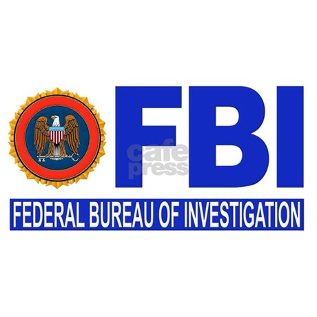fbi federal bureau of investigation stainless. Black Bedroom Furniture Sets. Home Design Ideas